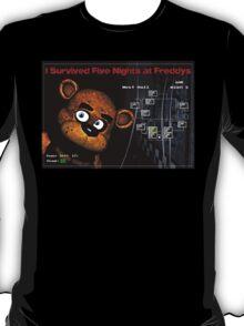 Five Nights at Freddy's Survivors T-Shirt T-Shirt