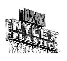 nylex neon sign Photographic Print