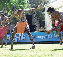 The Wadi Wadi Mixed Tribe at Viva La Gong by Vanessa Pike-Russell