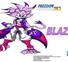 Freedom Fighters 2K3 Blaze by TakeshiMedia