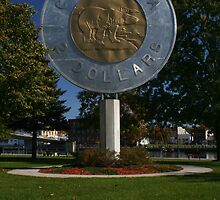 Canadian $2 Coin - - Campbellford Ontario by Allen Lucas