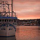 Harbourside Sunset by Colin Tobin