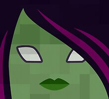 Superpillows - Guardians - Gamora by GrimbyBECK
