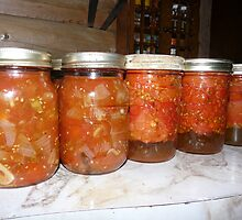 Quarts of Stewed Tomatoes by MaeBelle