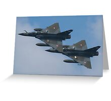 Ramex Delta Duo - Mirage 2000 Greeting Card