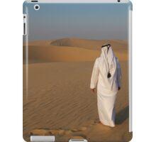 An Arab in the desert iPad Case/Skin