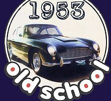 Old School Aston Martin 1953 by Prussia