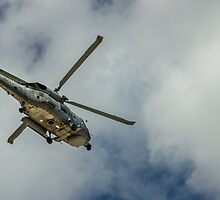 Militar helicopter by yiannismantas
