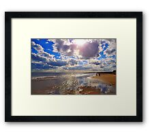 Texas Gulf Coast Framed Print