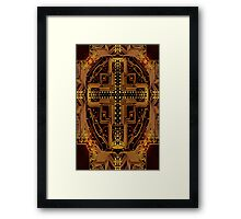 Cross Circuit Framed Print
