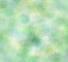 Green Water Color by juststickit