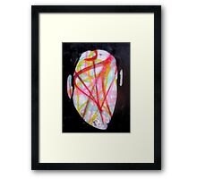 The Man Whose Head Expanded Framed Print