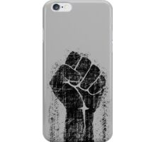 Dirt Fist Grunge Distressed Style iPhone Case/Skin