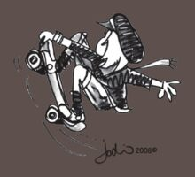Skateboarder by Jodi Franzke