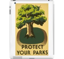 Protect Your Park iPad Case/Skin