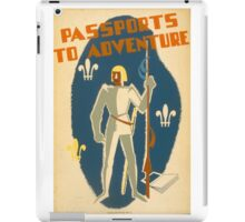 Passport to Adventure! iPad Case/Skin