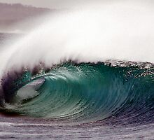empty wave by Alex Marks