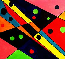Retro Abstract by cindywilsonart