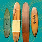 Old Surf Boards Image by Leonie Mac Lean