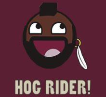 hog rider clash of clans by gamestuff