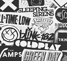 Bands Collage by Niashopsonline
