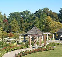 Sunken Gardens of Peace by Naturalartscape