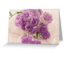 Lavender And Lace  Greeting Card