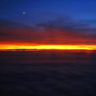 Sunset from Sky by Kaushik Rabha