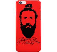 Man Bun Monday iPhone Case/Skin