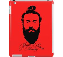Man Bun Monday iPad Case/Skin
