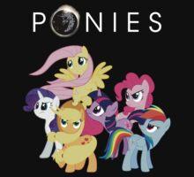 Ponies by AMKnite