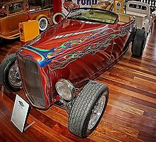'32 Multicolour Flame Deuce Roadster by tommvee