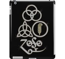 ANCIENT PAGAN ELEMENTS SYMBOLS (L) - diamonds are forever (gold) NEW iPad Case/Skin