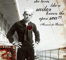 Sea-heart by Jordan Clarke