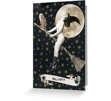 Halloween - Siobhan and Solstice Greeting Card