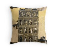 Zora Lavinski's Moving Rooming House Throw Pillow