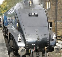 "A4 - ""Sir Nigel Gresley"" by Edward Denyer"