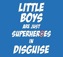 Little Boys Are Superheroes In Disguise - Captain America by WatermelonFctry