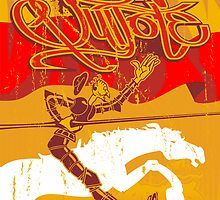 Don Quixote by brainboxz