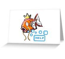 Magikarp Help! Greeting Card