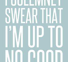 I Solemnly Swear - Harry Potter. by WatermelonFctry