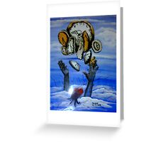 Just catching up with time.....or....is time just catching up with me........... Greeting Card