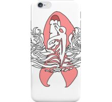 Submariner Supporter with Cancer Awareness Ribbon Ver 1 iPhone Case/Skin