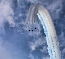 Red Arrows Vertical Break by PhilEAF92
