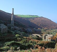 Mine ruins, Cornwall by WilliamtheIVth