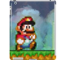 Super Mario retro painted pixel art iPad Case/Skin