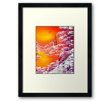 Violet Twilight Framed Print
