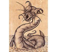 Raging Sea dragon Photographic Print