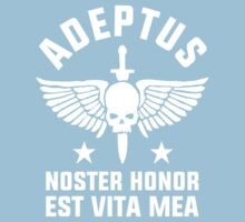 ADEPTUS: NOSTER HONOR EST VITA MEA (Warhammer) Kids Clothes