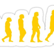 evolution muscle Sticker